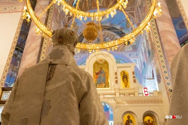 Храм закончили строить накануне визита патриарха