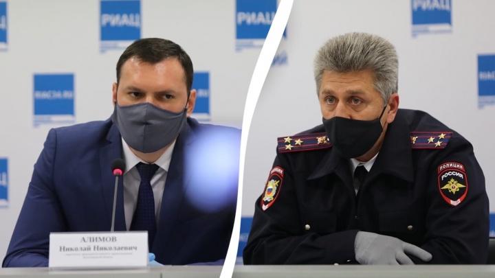 Вспышка COVID-19 в отделе полиции Волгограда и закрытие на карантин детской онкологии: итоги брифинга по ситуации с коронавирусом
