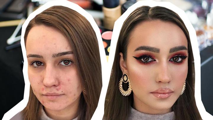 Чудеса макияжа: смотрим и удивляемся, как 10 тюменок изменились после похода к визажисту
