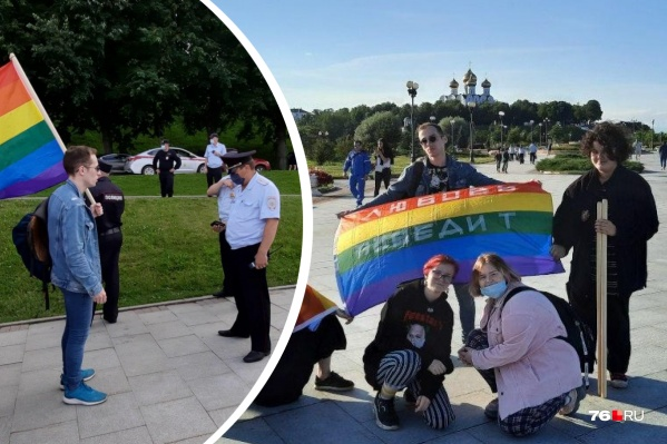 Полицейские прогулялись с ЛГБТ-активистами, но никаких претензий им не предъявили