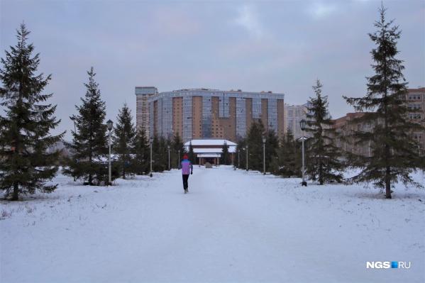 Территория перед «Сибирь-Хоккайдо», по планам мэрии, станет школьной