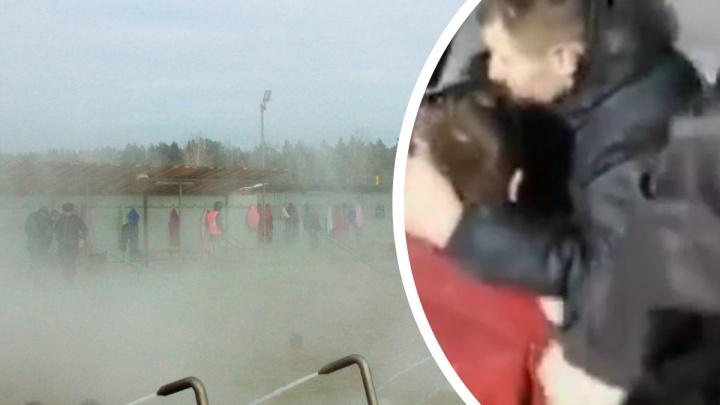 Отдыхающие и охранники устроили потасовку на горячем источнике под Тюменью