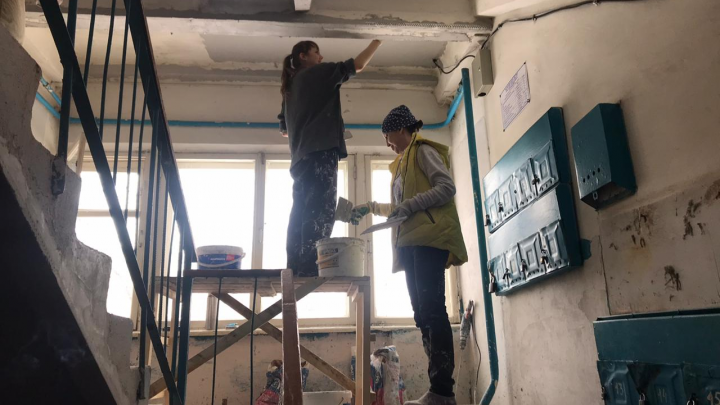 Амбиции: к концу лета в Башкирии должны отремонтировать в два раза больше подъездов, чем в 2019-м