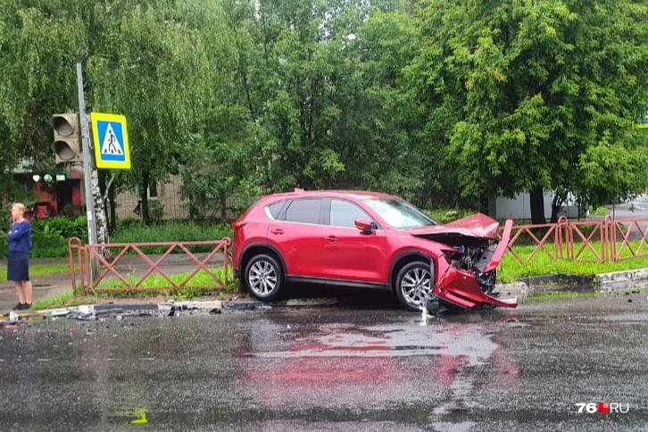 На перекрёстке, где произошло ДТП, не работал светофор