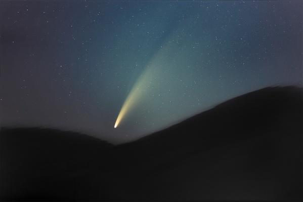 В следующий раз комета будет пролетать над Землёй через 6 тысяч 800 лет