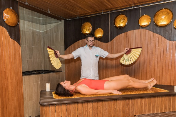 В «SPA Контраст» можно погреться в уникальной янтарной бане