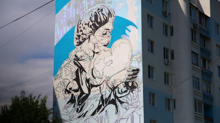 В Самаре появится граффити в благодарность врачам за борьбу с COVID