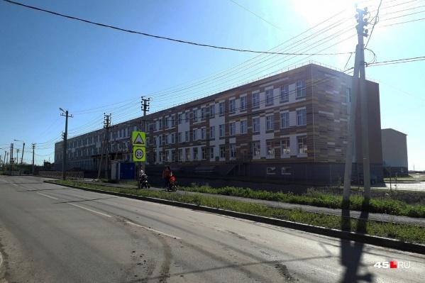 Школа на 1000 учеников, построенная в селе Кетово