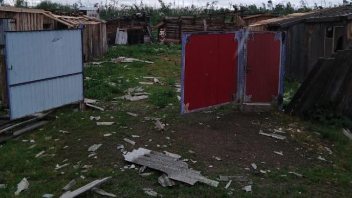 Прокуратура Мариинска будет проверять, как восстанавливают разрушенную ураганом деревню