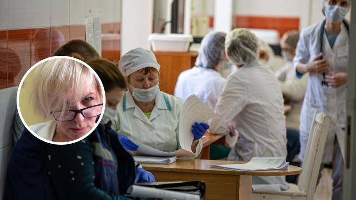 «Знайте свое место»: представитель здравоохранения отреагировала на вопрос от журналистки про маски для медиков