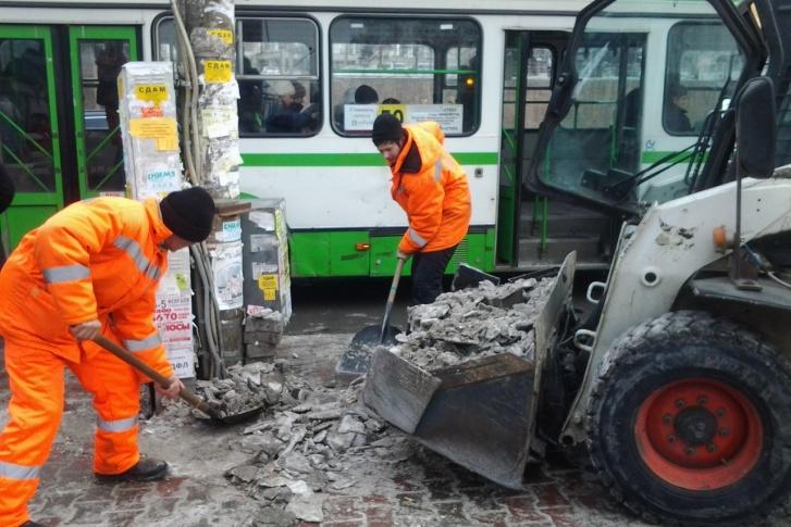 Другая рецептура: мы выяснили, чем будут посыпать дороги в Красноярске