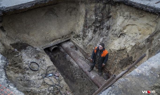 Ворошиловский район Волгограда вторые сутки сидит без воды