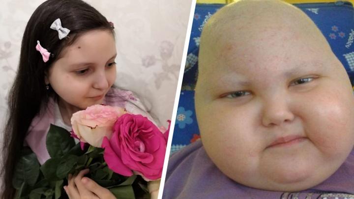Опухоль у девочки, для которой уральцы собрали 8 млн, вновь начала расти. Но лечение переносят из-за COVID
