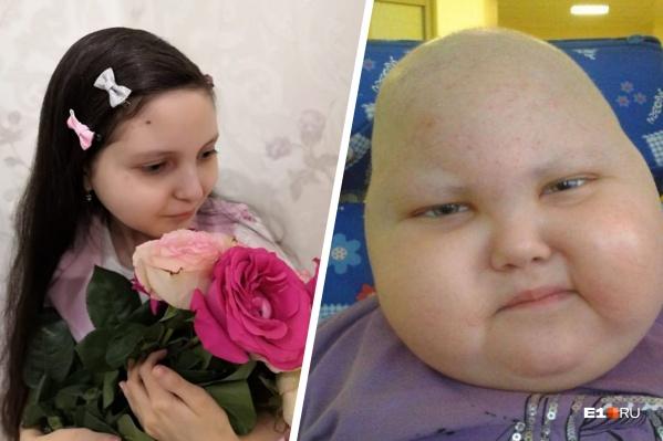 Диана после гормонального лечения набрала 17 килограммов. На фото слева - Диана сегодня