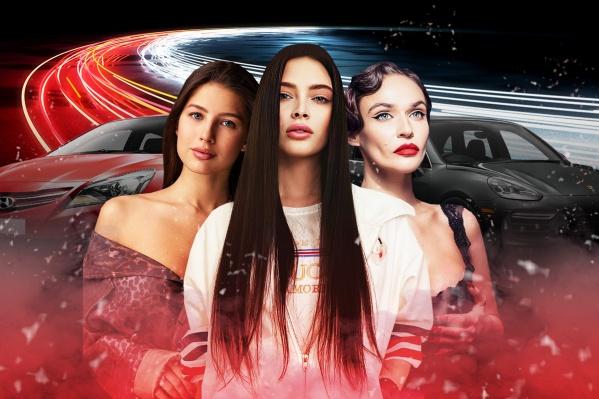 Автомобили этих красавиц каждый день светятся в Instagram. Девушки либо снимают свой маршрут, либо демонстрируют вокальные данные