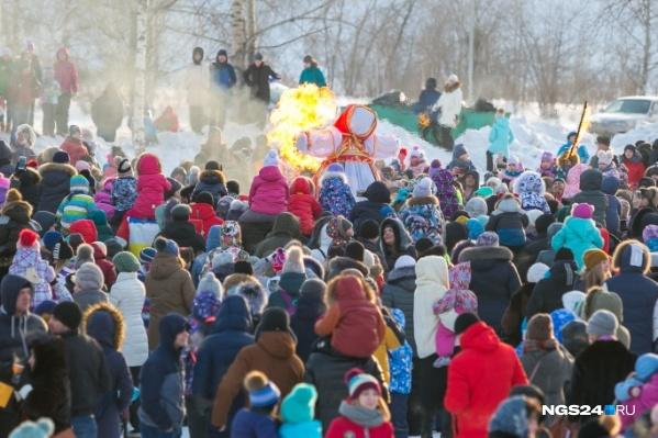 Масштабные гулянья ждут красноярцев 1 марта, в воскресенье