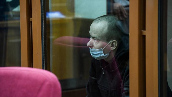 В суде Екатеринбурга показали, как «засветился» на видеокамерах «Уктусский стрелок»