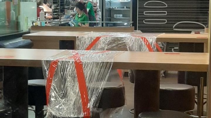 Рестораны Макдоналдс в Уфе открылись для посетителей