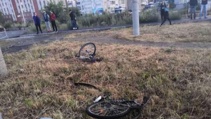 На Южном Урале велосипед подростка разорвало на части после наезда «десятки». ДТП попало на видео