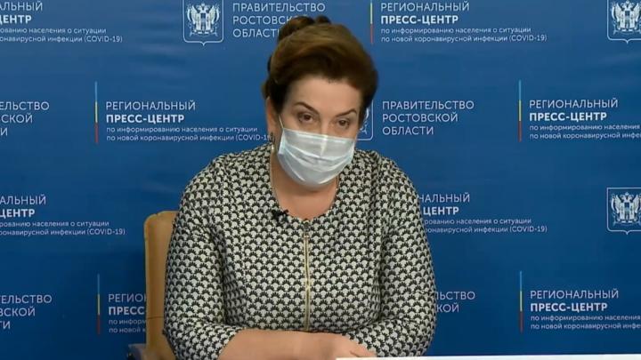 Быковская рассказала, сколько жителей Ростовской области получат прививку от COVID-19 до конца года