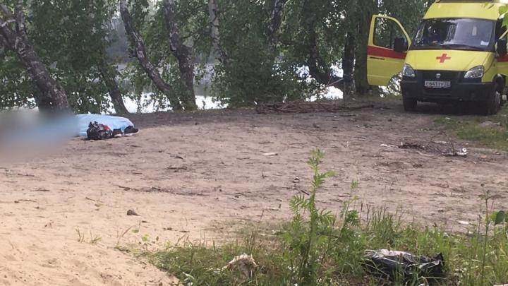 В Тобольске в городском водоеме утонул молодой человек