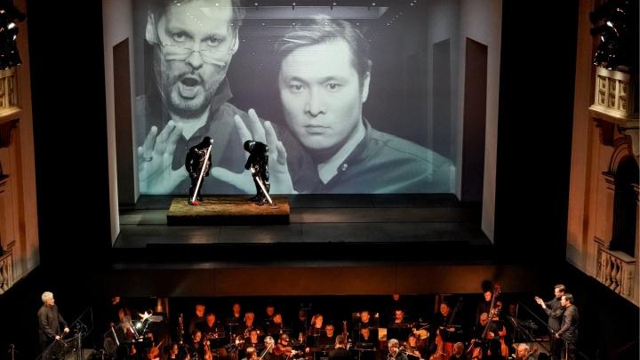 Новый «Дон Жуан» в Пермском оперном: солисты в оркестровой яме и много арт-объектов на сцене