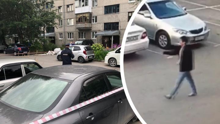 Подозреваемый в убийстве женщины, чьё тело нашли на 50 лет ВЛКСМ, попал на уличные камеры