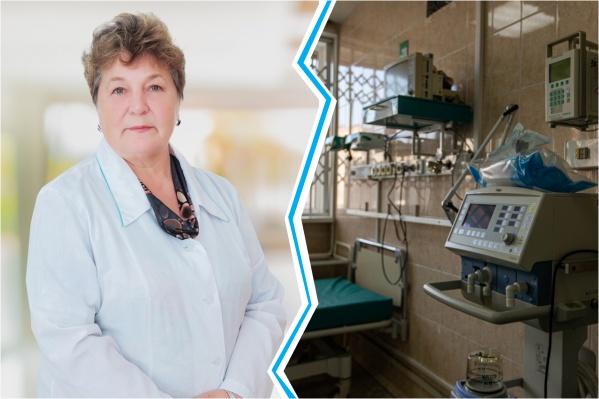 Неля Николаевна работала в областной больнице