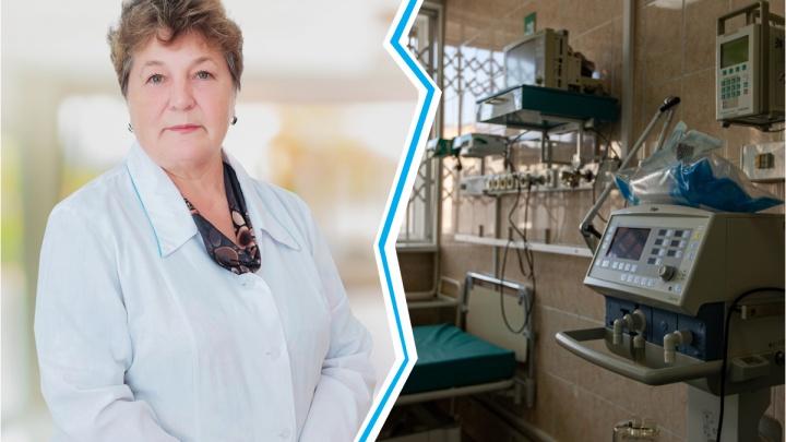 В Новосибирске скончалась врач-рентгенолог. Последние дни она провела в госпитале для больных Covid-19