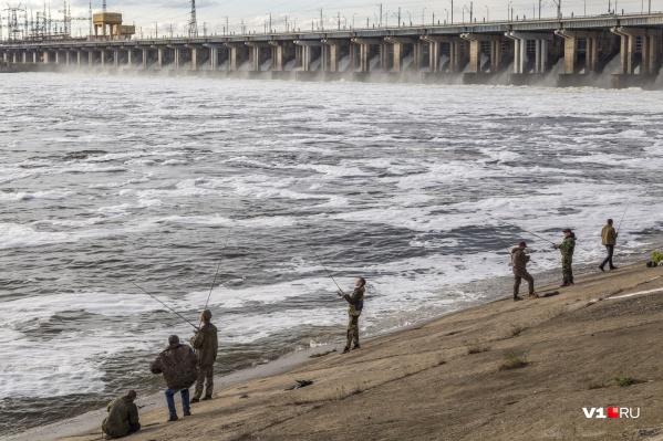 Хороший улов начнется, когда вода опустится до летнего уровня