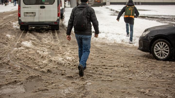 Ночью — минус, днем — плюс: новосибирцев предупредили о температурных качелях