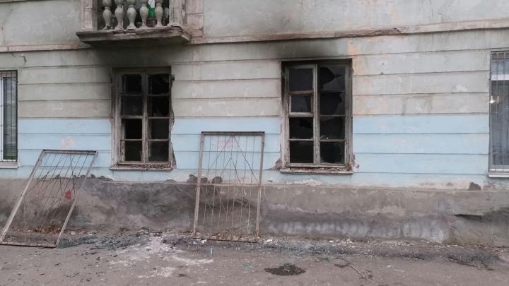 Коротнул светильник: в Самаре во время пожара пострадали дети