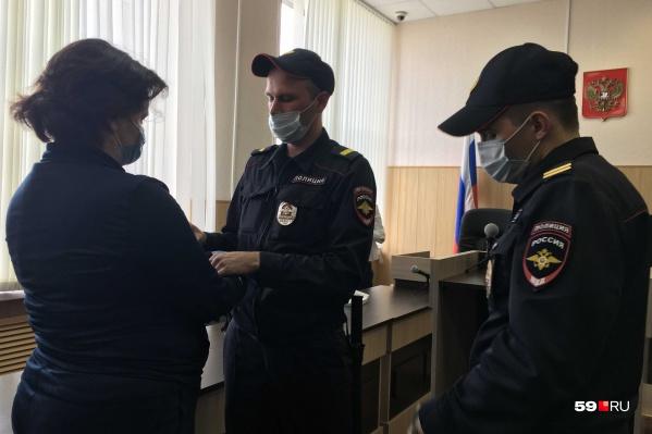 Ирину Лобанову взяли под стражу в зале суда
