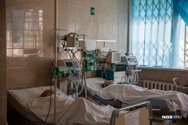 Многие пациенты последние дни проводят в реанимации на ИВЛ