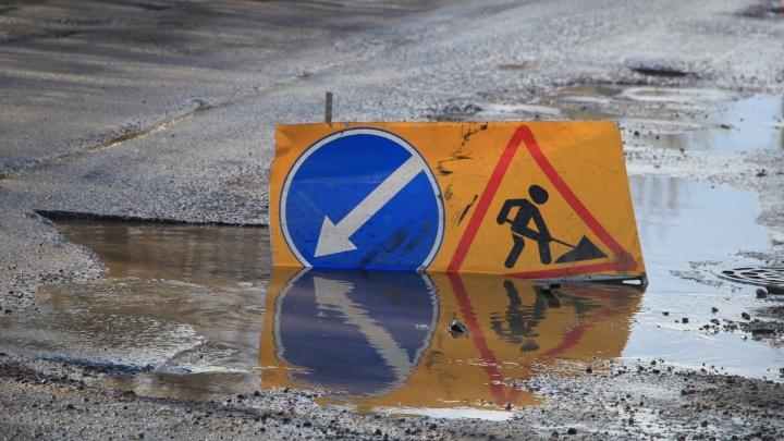 «Асфальт сошел вместе со снегом»: Александр Цыбульский высказался о плачевном состоянии дорог Поморья
