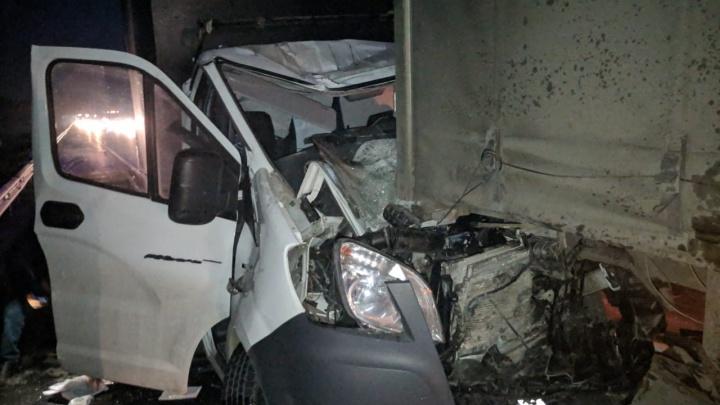 На ЕКАД произошло массовое ДТП с пятью машинами, три человека пострадали