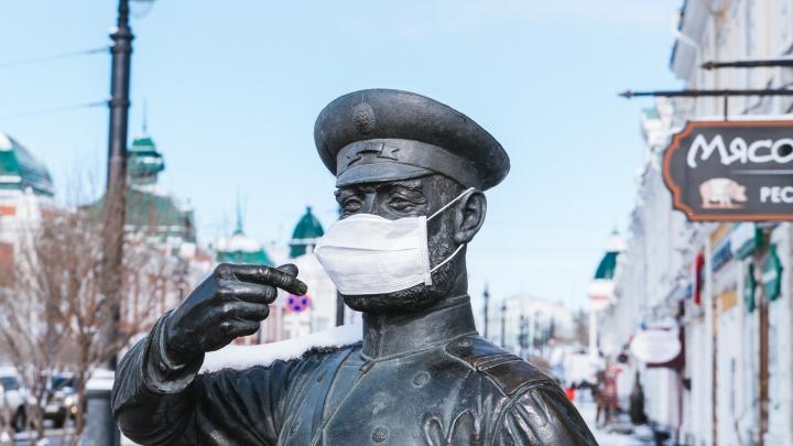 За сутки 235 жителей Омской области заразились коронавирусом
