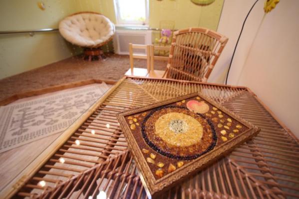 Так выглядит янтарная комната в Зеленоградске Калининградской области