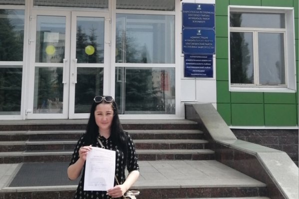 Анянова собирает подписи горожан, чтобы баллотироваться в депутаты