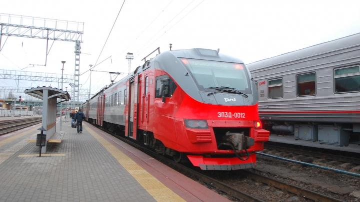 Движение городской электрички возобновили в Ростове