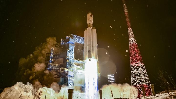 Минобороны опубликовало первые секунды полета омской ракеты «Ангара»