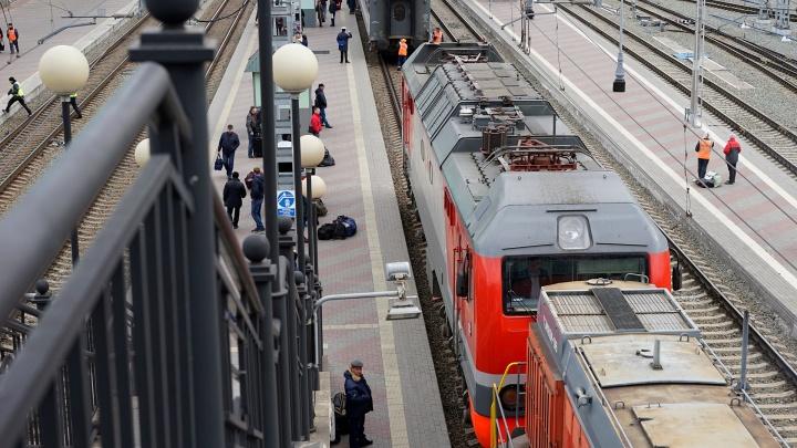 Из Омска вновь начал ездить скорый поезд до Новосибирска
