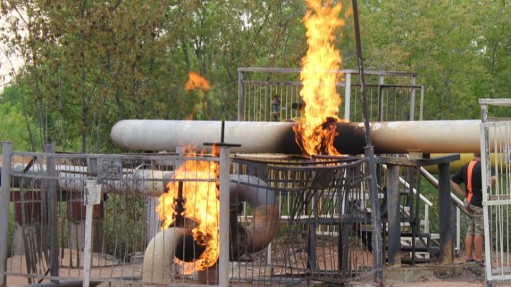 Газ в домах на Левом берегу после пожара пообещали вернуть 14 июня