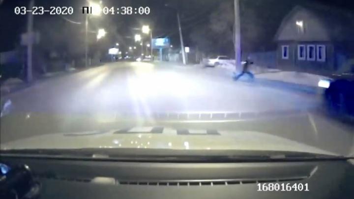 Задержанный тюменец на Infiniti, буйная пассажирка такси и лишняя соль: дорожные видео недели