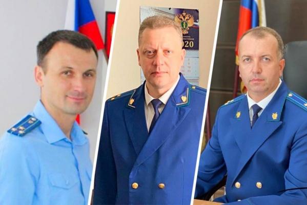 Новые прокуроры (слева направо) Никита Гаврилюк, Дмитрий Запорожец и Борис Меерович