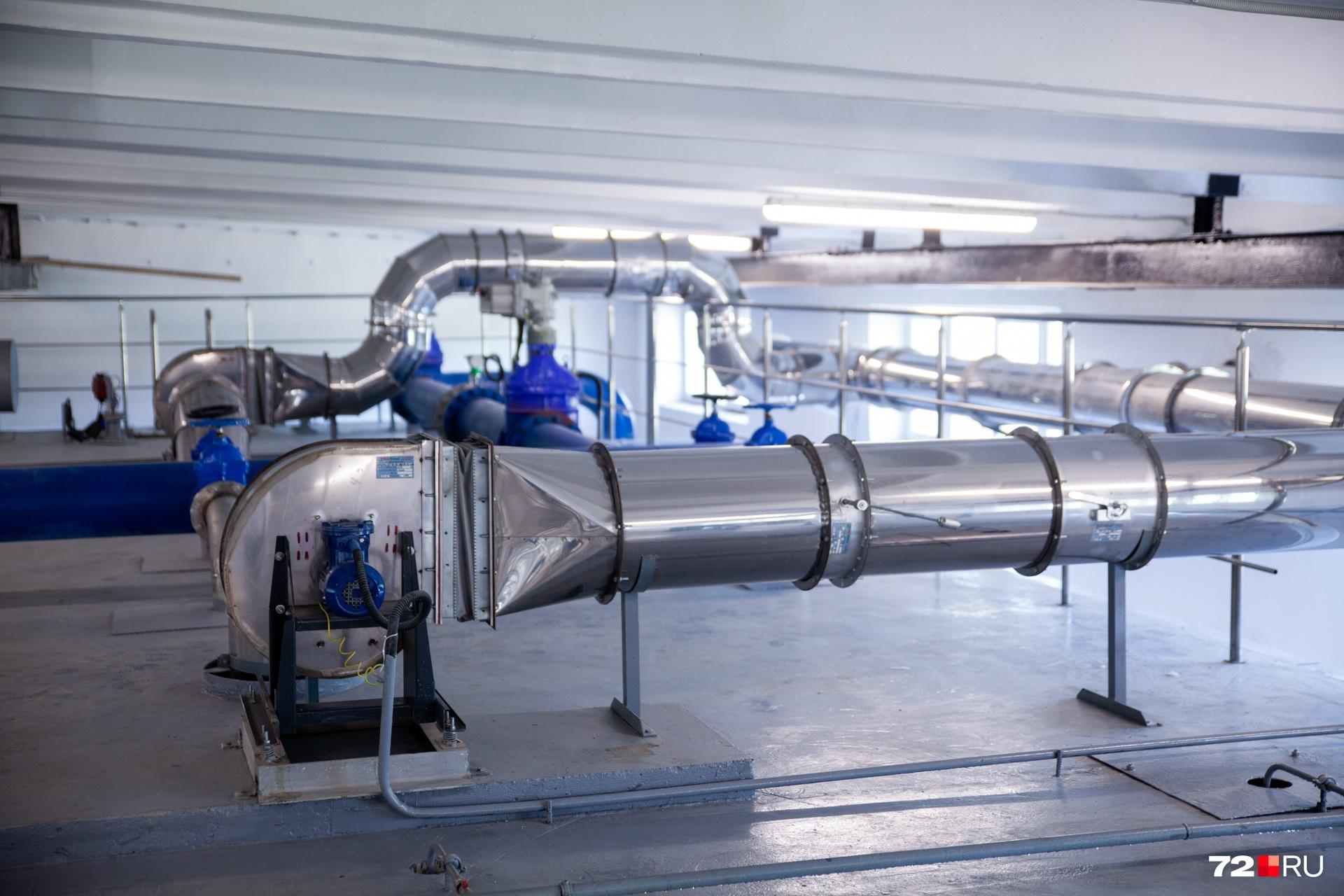 Водозабор — это огромный технологический комплекс