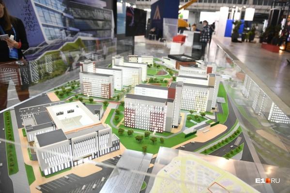Рассмотреть макет деревни Универсиады можно будет 20–22 октября в «Екатеринбург-Экспо»