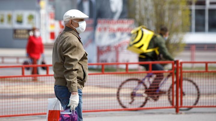 Горожане начали охоту на бесплатные маски и перчатки: хроники коронавируса в Волгограде