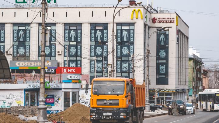 В Перми на три ночи перекроют участок Комсомольского проспекта