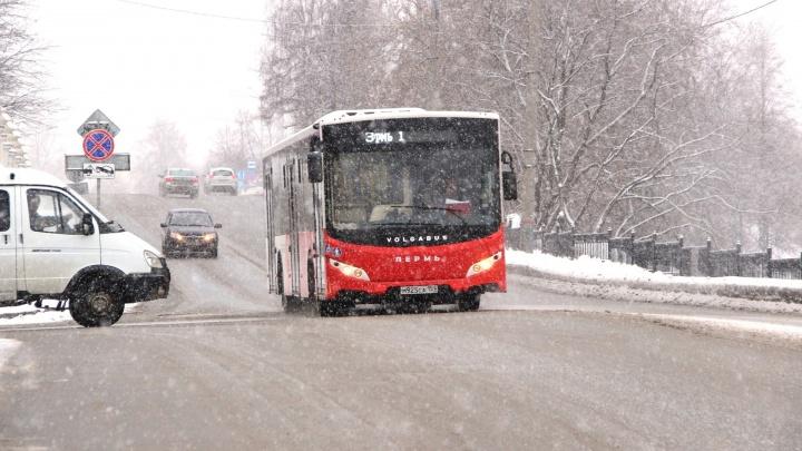 В Перми после ремонта путепровода на улицу Монастырскую возвращают большие автобусы